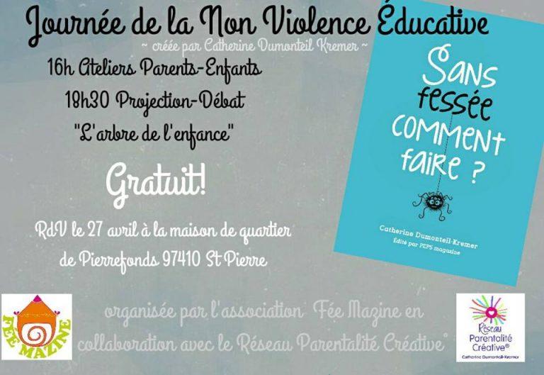 Journée de la non violence éducative 2018