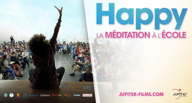 """Ciné-rencontre """"Happy, la méditation à l'école"""""""