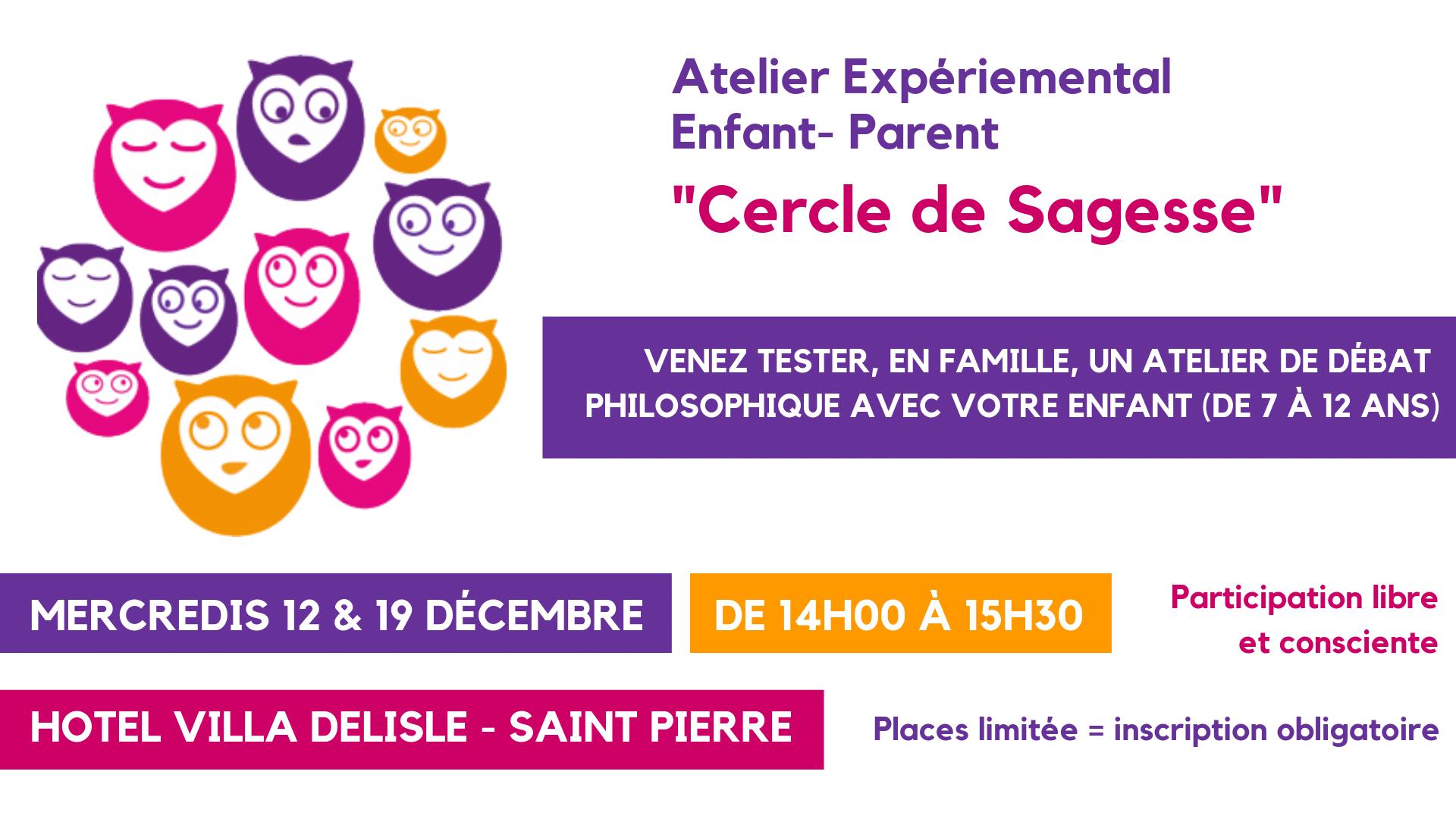 Cercle de Sagesse – un atelier expérimental enfant-parent !